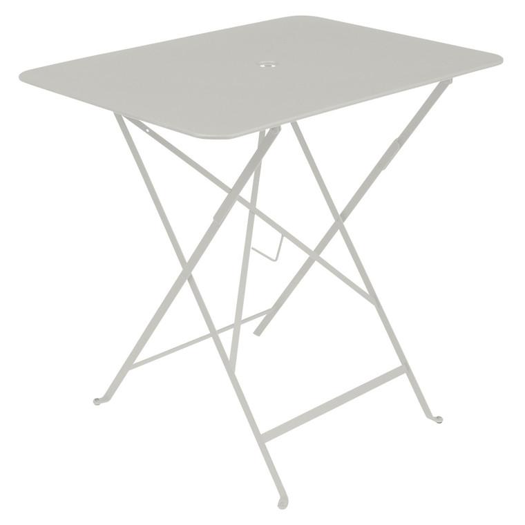 Table pliante Bistro rectangulaire gris argile 77 x 57 x 74 cm 702388