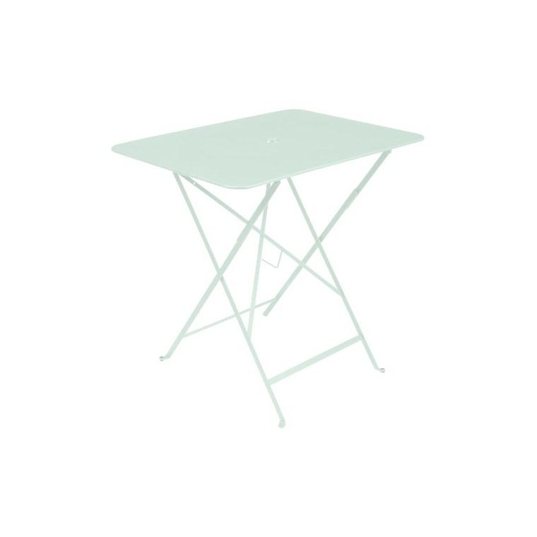 Table pliante Bistro rectangulaire vert menthe 77 x 57 x 74 cm 702389