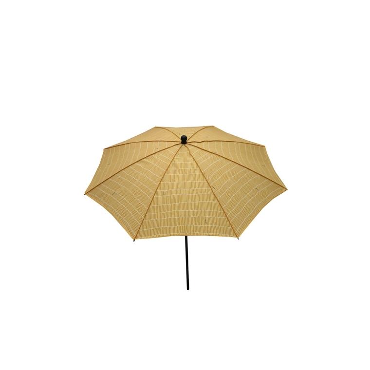 Parasol rond déco jaune Ø 240 x h 200 cm 702905