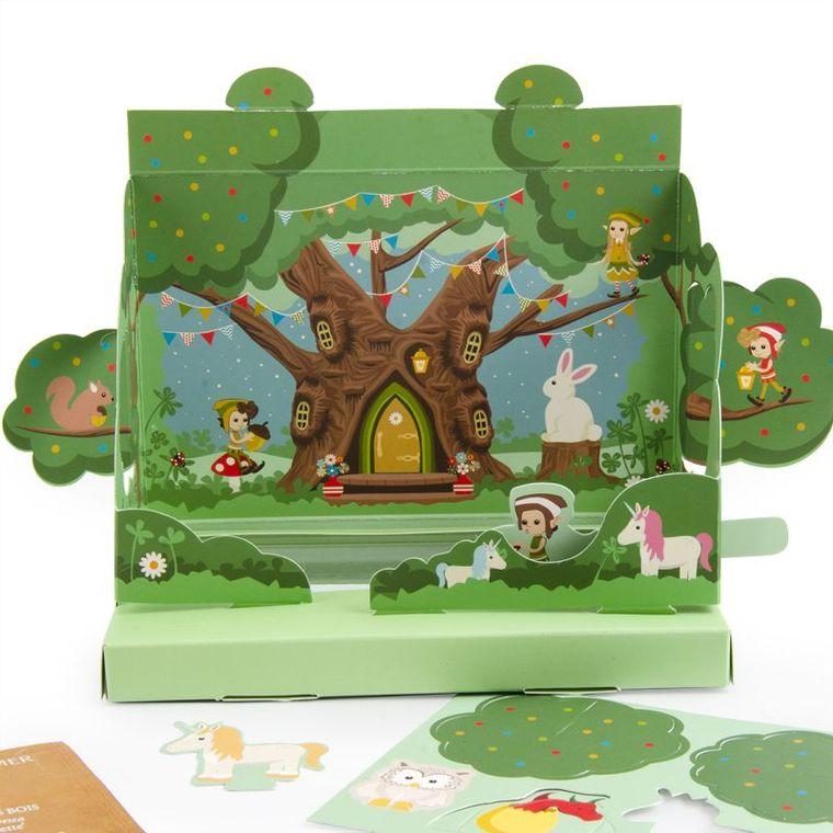 Jardin magique pop-up Magical garden 703021