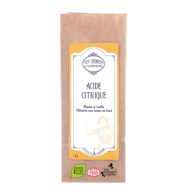 Sachet acide citrique 1 kilo 703029