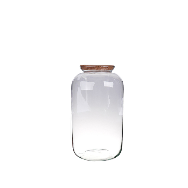 Vase Bonbonne bouchon liège M Ø23xH41 cm 704282