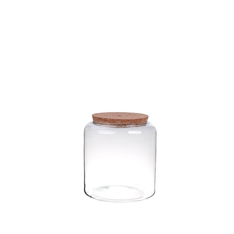 Vase Mia bouchon liège S Ø19xH20 cm 704283