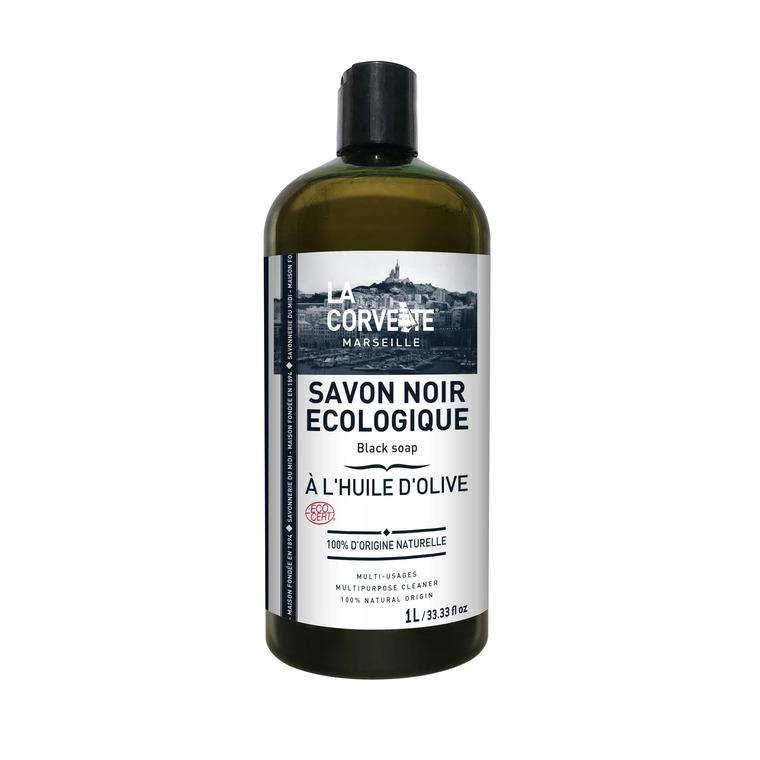 Savon noir liquide olive 1L 704775