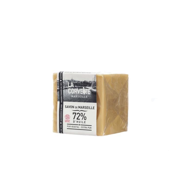 Cube de savon de Marseille extra pur sous film 200 g 704781