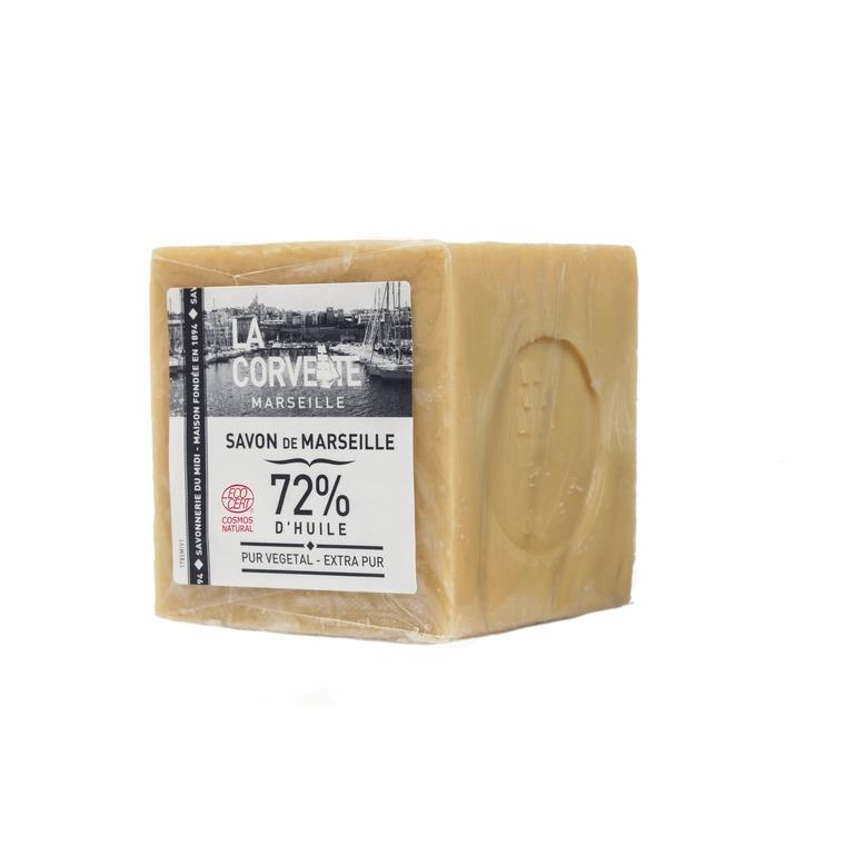 Cube de savon de Marseille extra pur sous film 500 g 704785