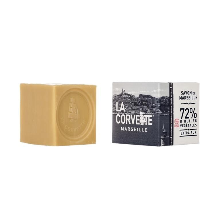 Cube de savon de Marseille extra pur Boîte 200 g 704790