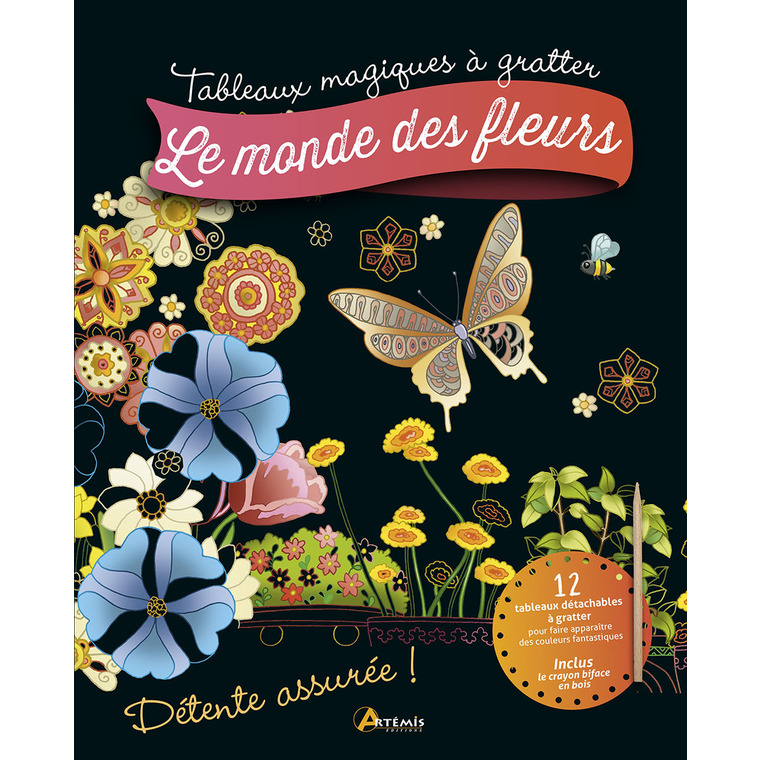 Tableau magique Le monde des fleurs 705421
