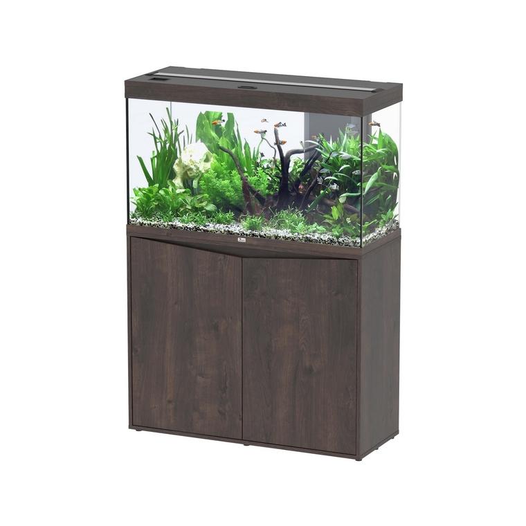 Meuble Splendid chêne foncé pour aquarium 706672