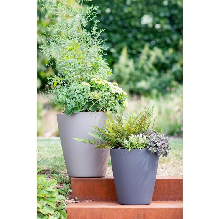 Le pot citoyen botanic® anthracite 15L (Ø 30,4 x H 32,8 cm) 707340