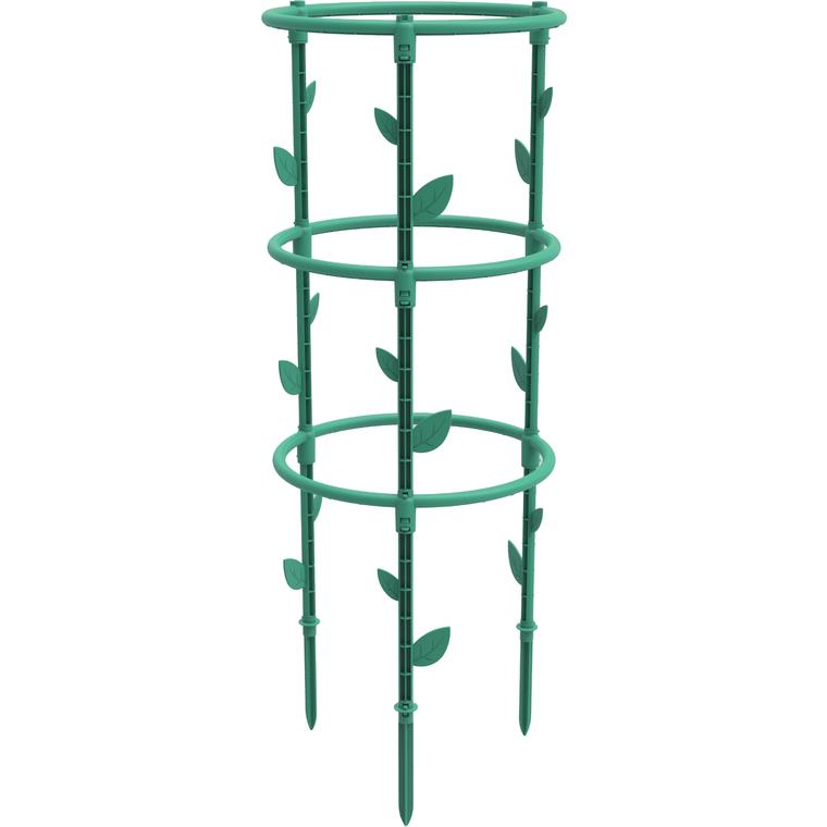 Tuteur Jungle vert H 66,3 x Ø 25 cm 707696