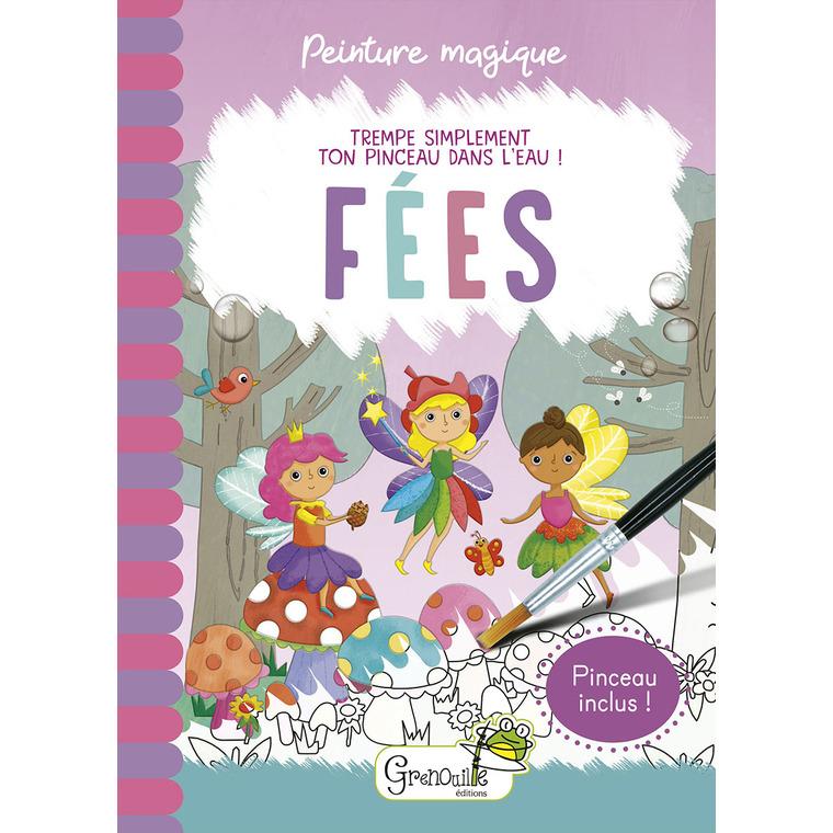 Peinture magique - Fées. Editions Grenouille 708578