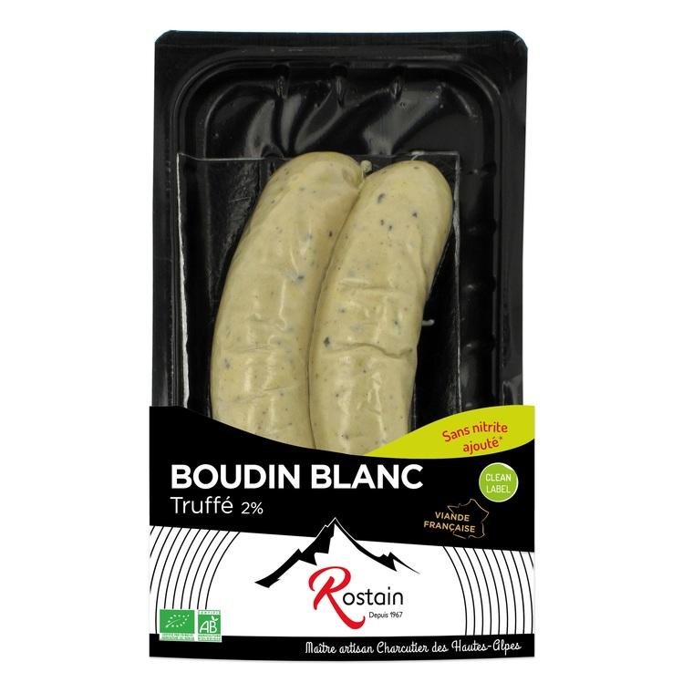 Boudin blanc truffé 2% x2 (200g) 709466
