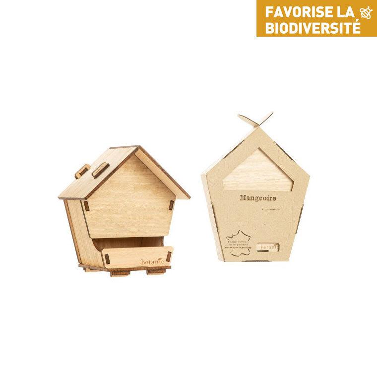 Kit mangeoire en bois botanic® (à monter) 711277