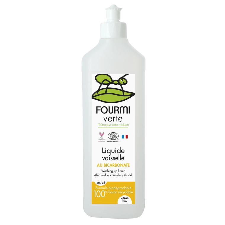 Liquide Vaisselle au Bicarbonate 500 ml 711660