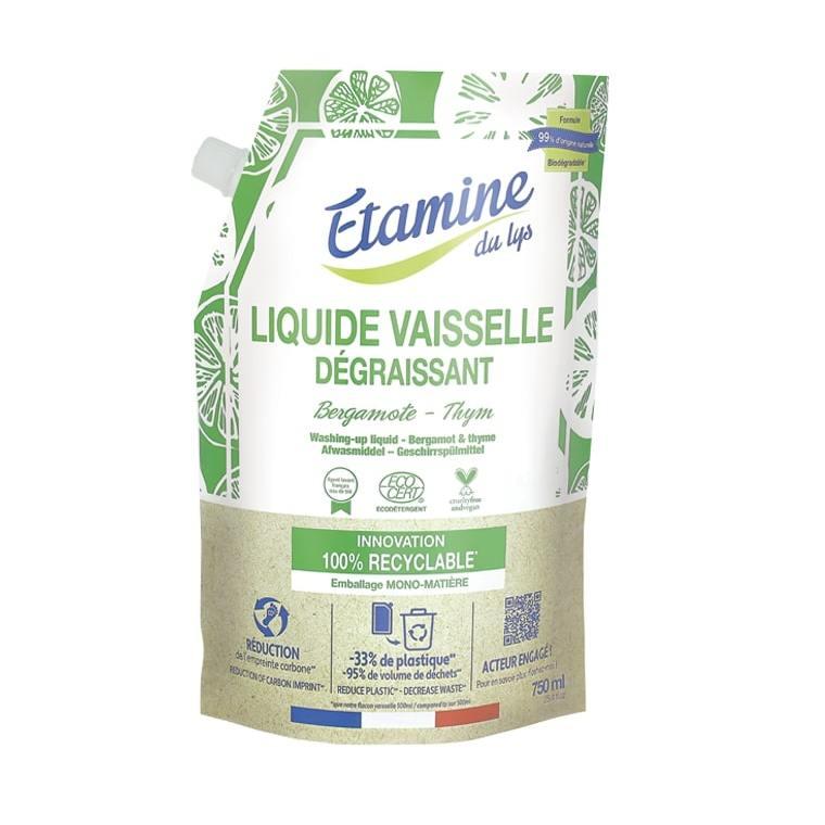 Doypack Liquide Vaisselle Thym Bergamote 750 ml 711663