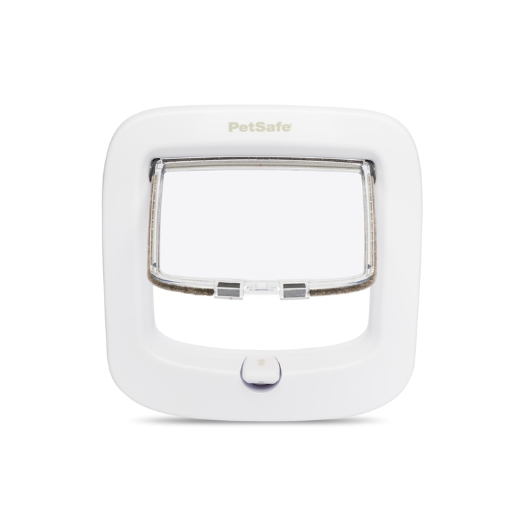 Chatière Petsafe 4 positions luxe blanche 713330