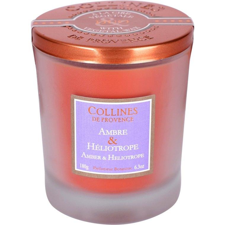Bougie parfumée  ambre heliotrope 714740