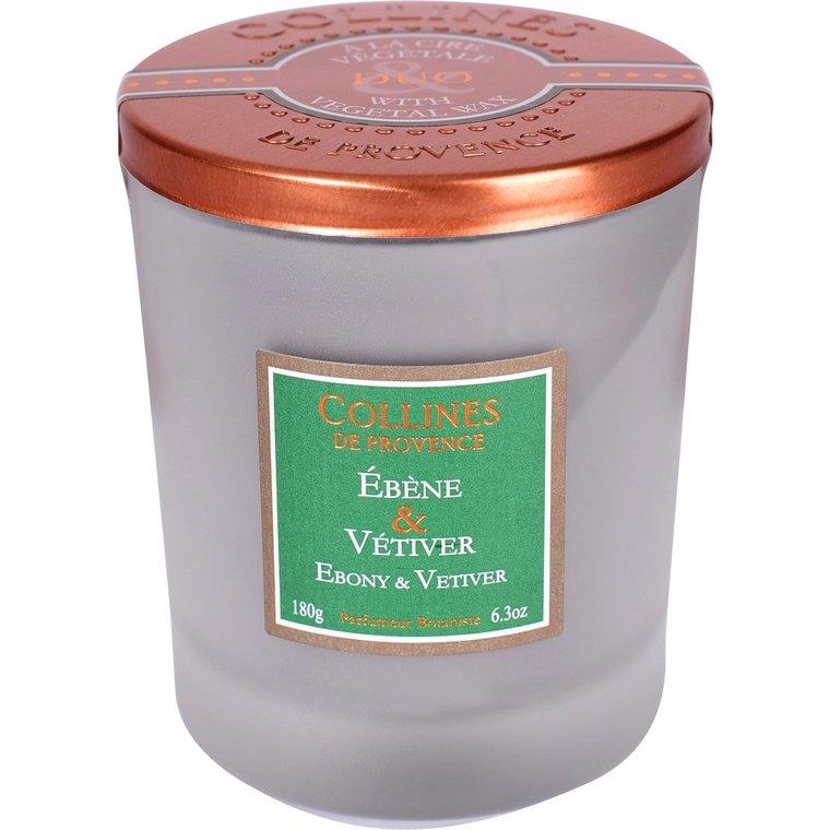 Bougie parfumée  ebene vetiver 180g 714741