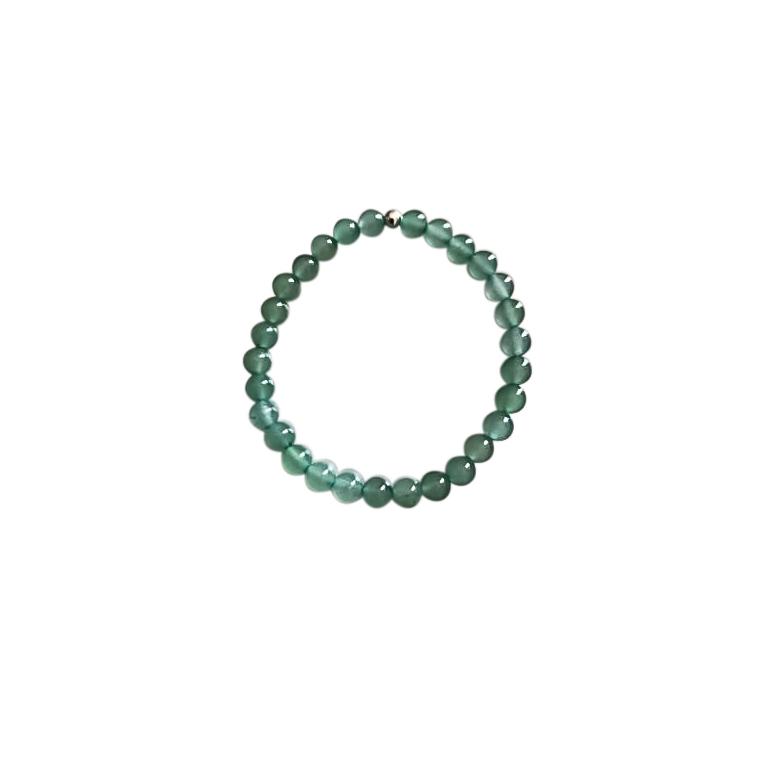 Bracelet aventurine verte pour enfant 4mm 715157