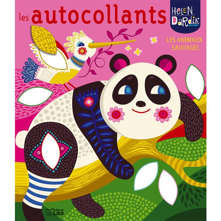 Les autocollants Helen Dardik - Les animaux sauvages. Editions Lito 715328