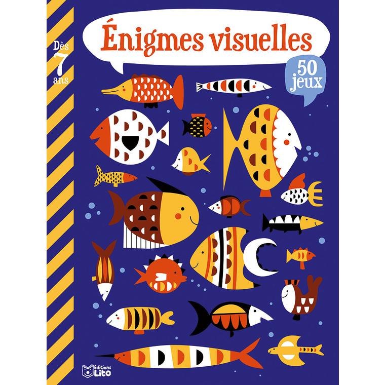 Mon grand livre de jeux - énigmes visuelles. Editions Lito 715342