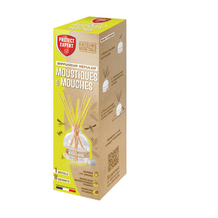 Diffuseur répulsif moustiques et mouches 60 ml 715432