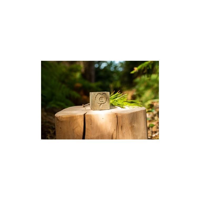 """Shampoing solide et naturel """"Sentier vert"""" cheveux normaux à gras - 100g 716206"""