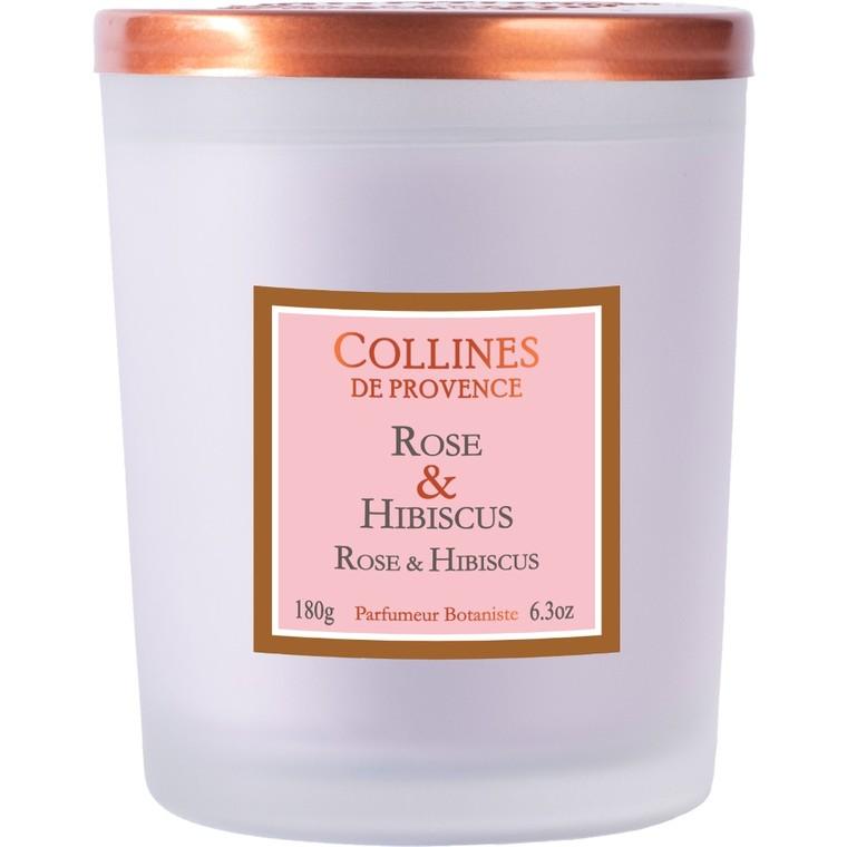 Bougie parfumée rose hibiscus 716247