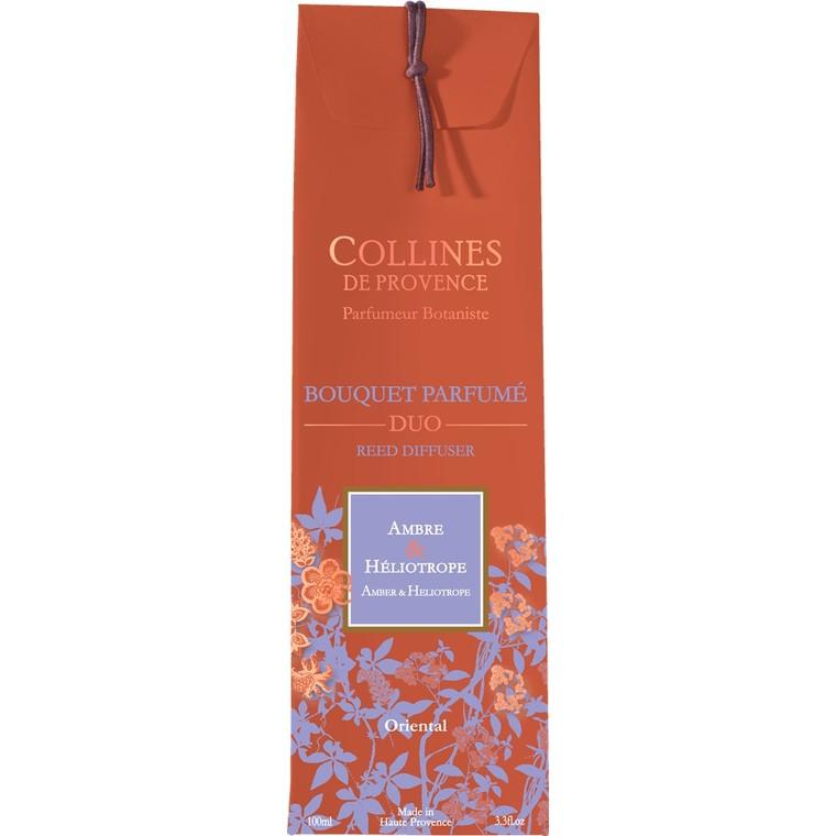 Bouquet parfumé ambre heliotrope 100ml 716250