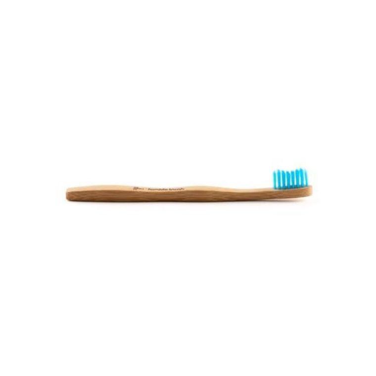 Brosse à dents pour enfant en bambou coloris bleu 716278