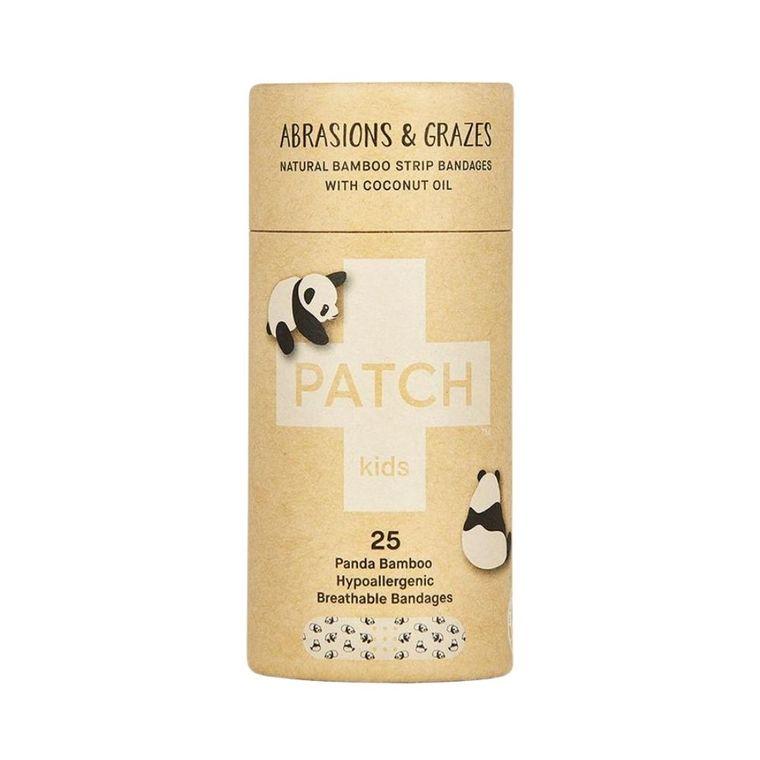 Pansements naturels pour enfant en bambou et à l'huile de coco Patch - 25 pièces 716297