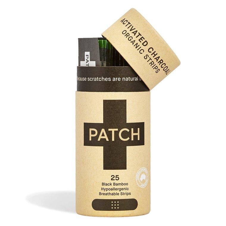 Pansements naturels en bambou et charbon actif Patch - 25 pièces 716299