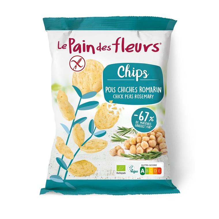 Chips bio aux pois chiches et romarin - 50 g 719939