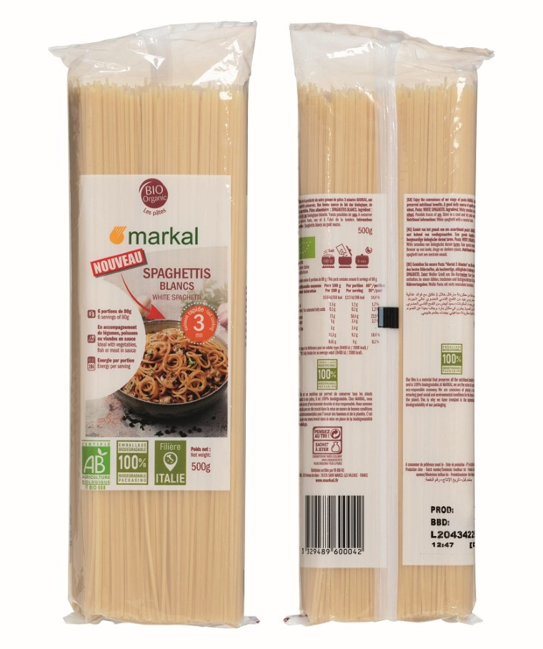 Spaghettis blancs cuisson rapide bio - 500 g 727037