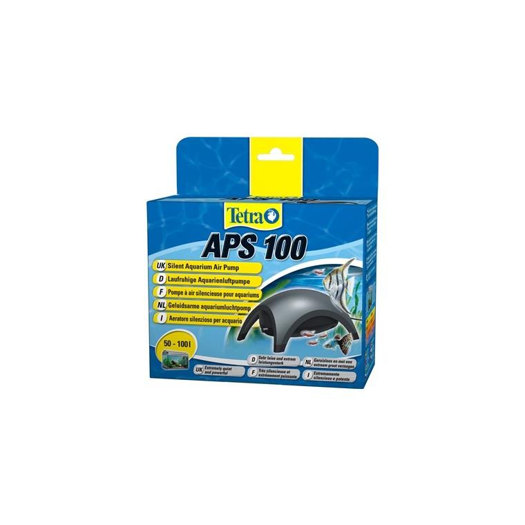 Pompe à air pour aquarium Tetra APS 100 noire 73468