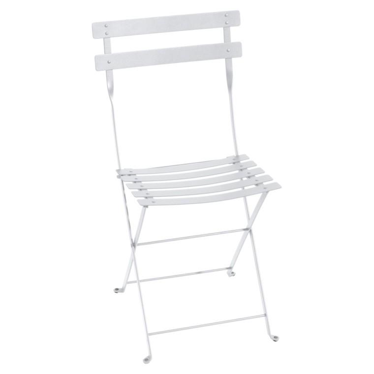Chaise pliante Bistro coloris Blanc coton 777062