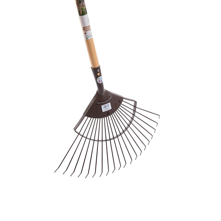 Balai à feuilles fil rond renforcé marron 777896