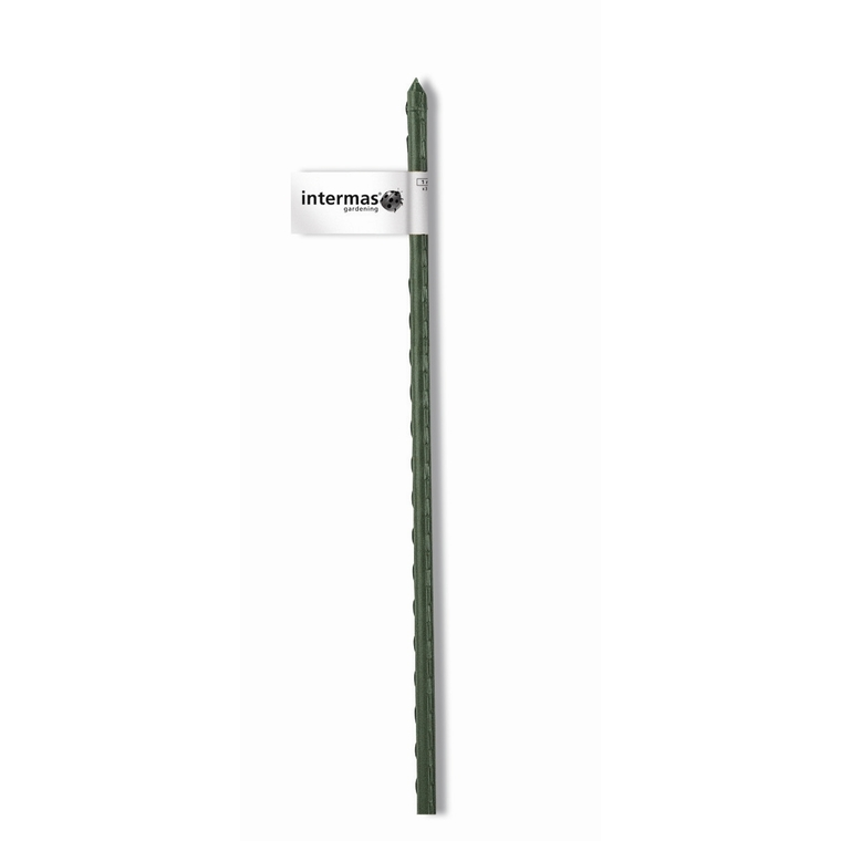 Tuteur acier plastifié coloris vert  Ø 11 mm x 1,20 m 784646