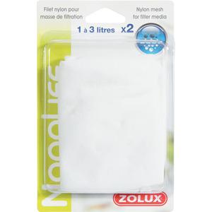 Lot de 2 filets de nylon pour masses filtrantes de 1 et 3 L 805487