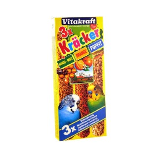 Kräcker Perruche x3 miel orange Vitakraft 95g 806065