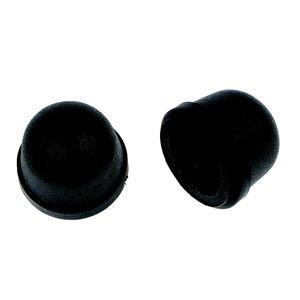 Deux butées en caoutchouc noir pour sécateur 2 mains 813774