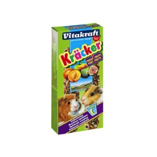 Kräcker cochons d'Inde x2 fruits Vitakraft 117g 819156