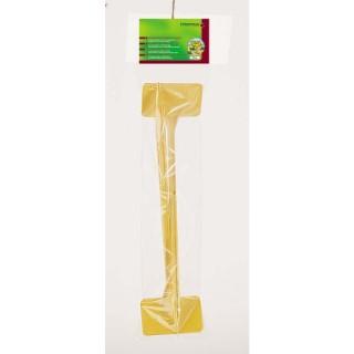 Étiquette à planter coloris jaune 35 cm 822536