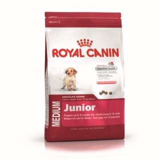 Croquette 15kg Medium junior Royal Canin 836016