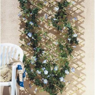 Treillis extensible en bambou, 100 x 200 cm 847094