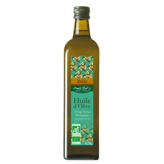 Huile d'olive d'Italie bio en bouteille de 750 ml 860154
