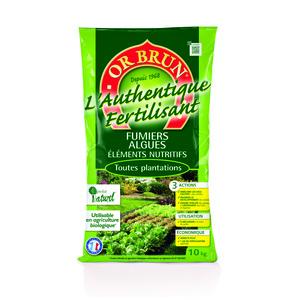 Fertilisant Or Brun Authentique 10 kg 865250