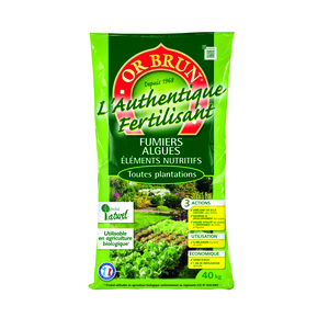 Fertilisant Or Brun Authentique 40 kg 865252