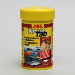 Aliment pour poissons en tablettes Novotab. La boite de 100 ml 872970